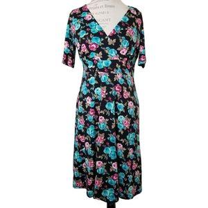 POPPY & BLOOM FLORAL DRESS NWT